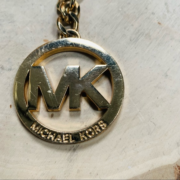 Michael Kors Key Ring Hold Tone